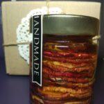 Мед с сушеным яблоком 200 мл.