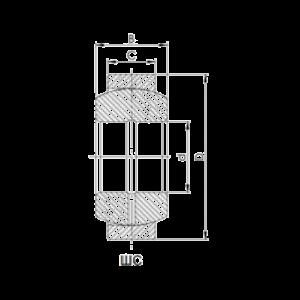 Схема подшипника ШС