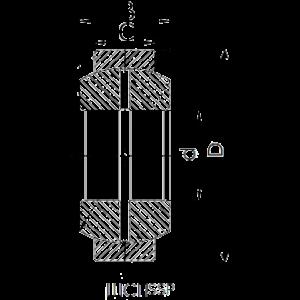 Схема подшипника ШСП